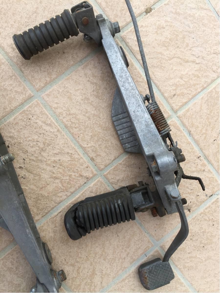 RZ250 RZ350 左右ステッププレート チェンジペダル ブレーキペダル ブレーキロッド4L3 4U0_画像3