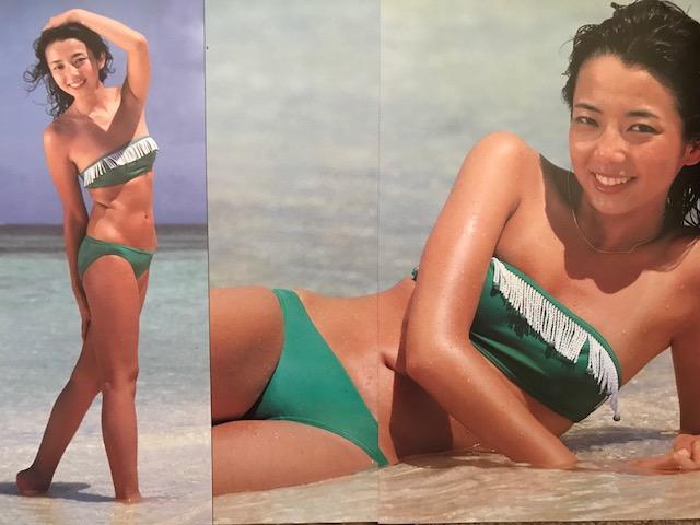 相本久美子さんの水着