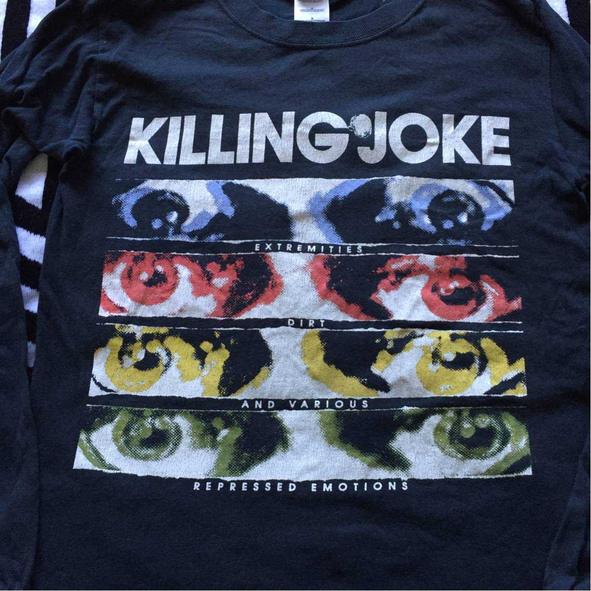 KILLING JOKE Tシャツ ロングスリーブ UK punk pop group hardcore 80s 長袖