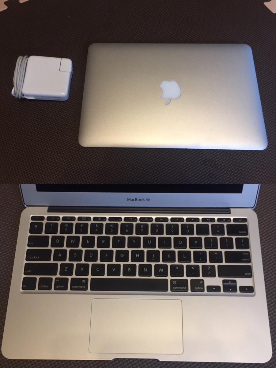 ジャンク品 MacBook Air 11インチ Late2010 SSD128GB メモリー4GB