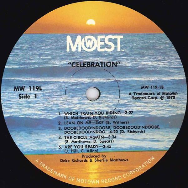 Celebration Motown Group Soul Funk 良好品_画像3