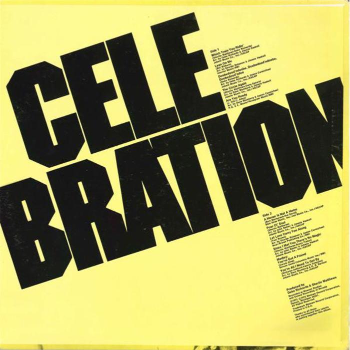 Celebration Motown Group Soul Funk 良好品_画像2
