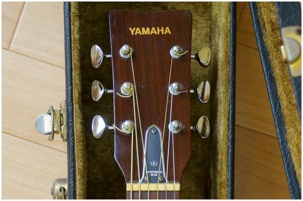 YAMAHA★ヤマハ★アコースティックギター★FG-180★貴重なライトグリーンラベル_画像2