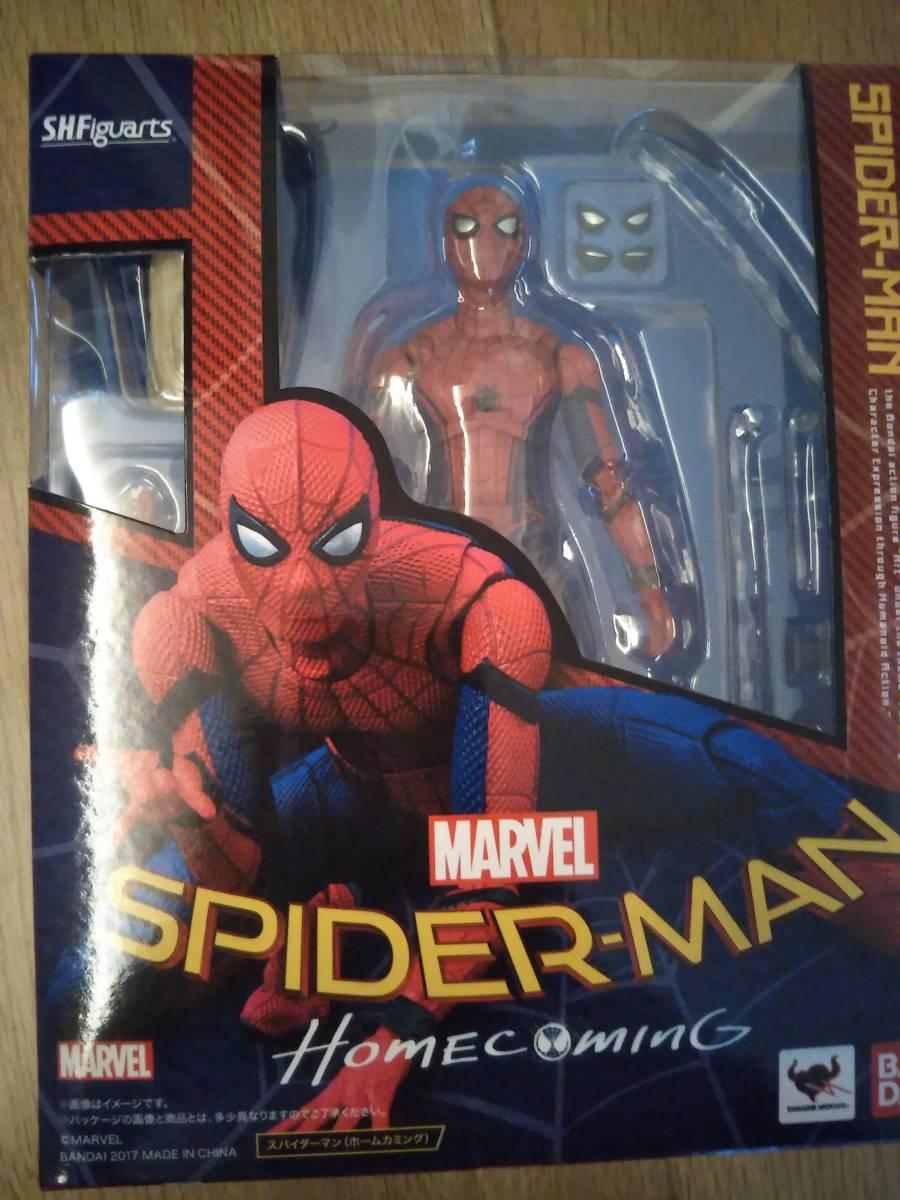 s.h.フィギュアーツ ホームカミング スパイダーマン グッズの画像
