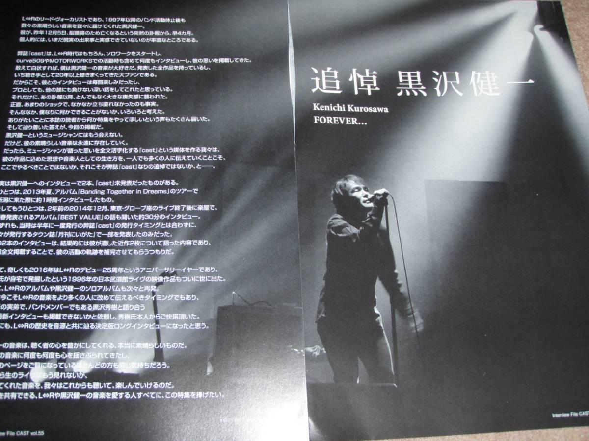 黒沢健一 黒沢秀樹     切り抜き168ページ       L⇔R エルアール