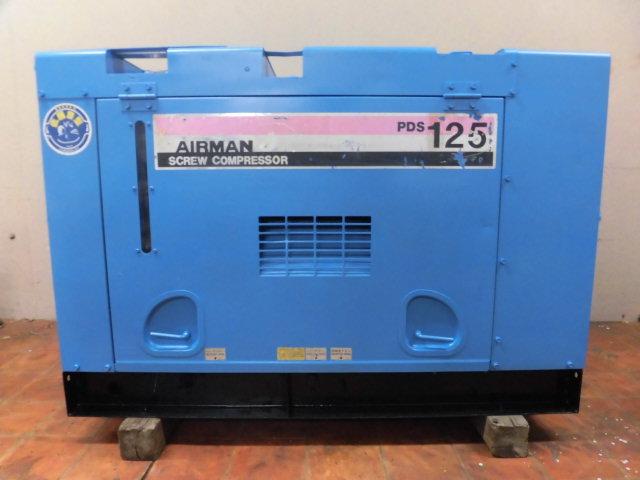 A878◎AIR MAN ディーゼルエンジンコンプレッサー PDS125S◎
