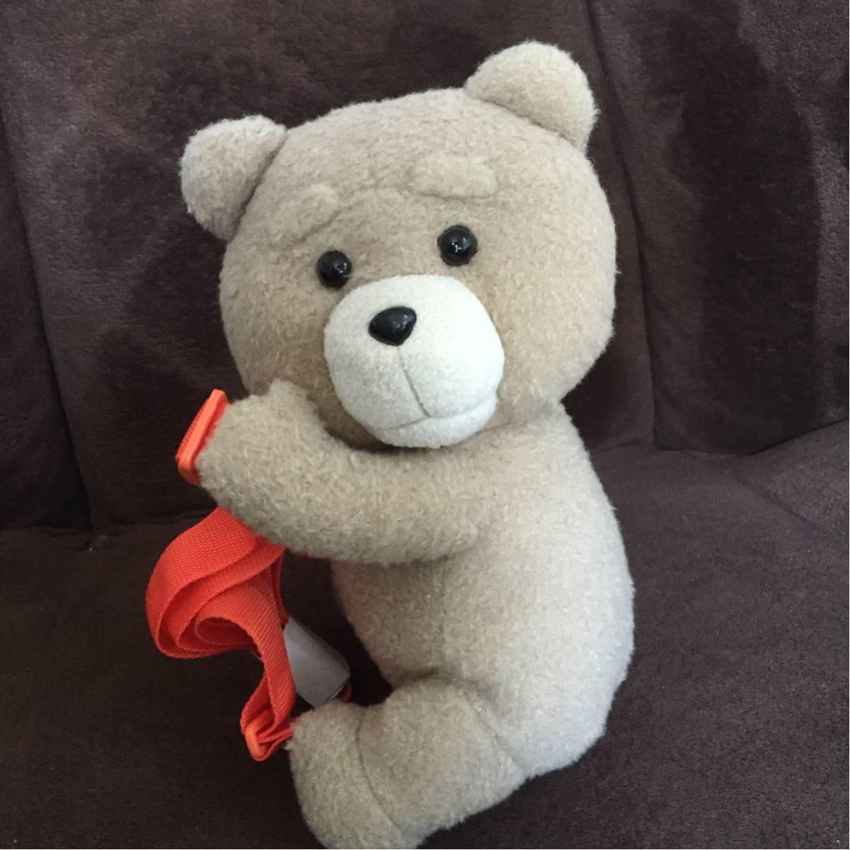 ted2 テッド おんぶぬいぐるみリュック オレンジ グッズの画像