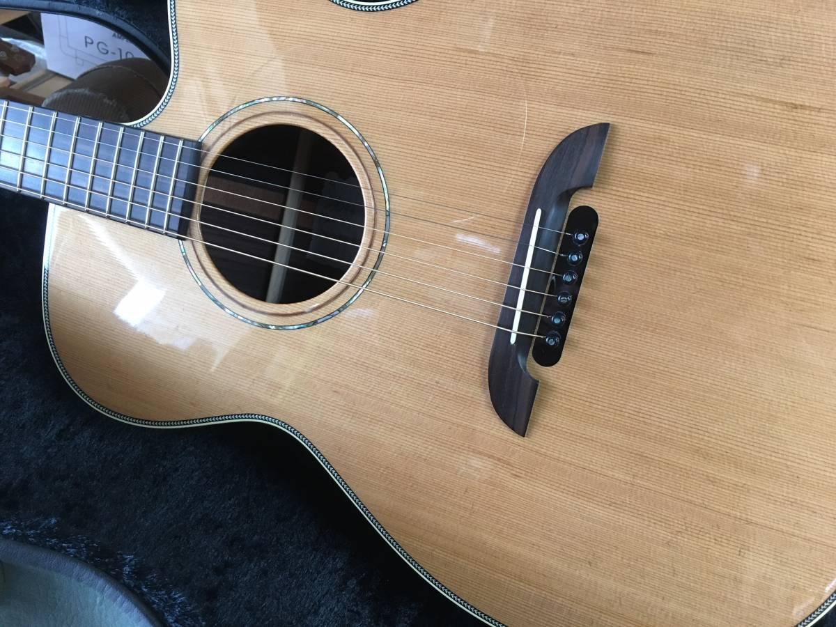 国内製造 人気の Kyairi WY-1 K ヤイリ 小柄な エレアコ ネック細く 弾きやすい_画像2