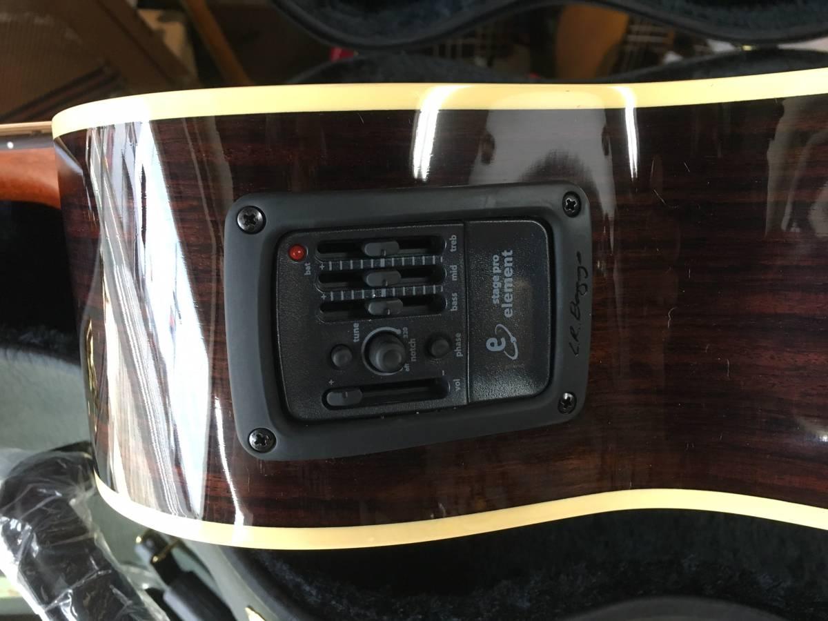 国内製造 人気の Kyairi WY-1 K ヤイリ 小柄な エレアコ ネック細く 弾きやすい_画像3