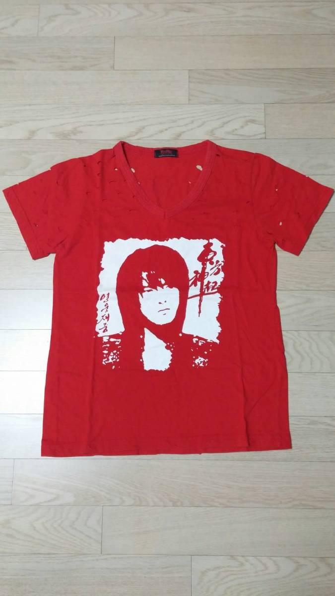 ジェジュン・Tシャツ・JYJ・東方神起デビュー時の貴重なTシャツ・レア ライブグッズの画像
