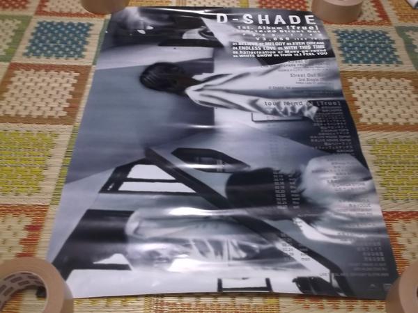 ▽ D-SHADE ★ ディシェイド 【 True 告知 ポスター 3枚セット 】