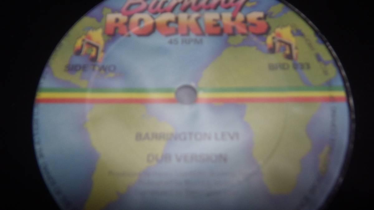 12inch org Barrington Levy Jah Thomas [Shine Eye Gal ] ex 送料510円 Burning Rockers UK オリジナル reggae レゲエ roots ルーツ_画像2