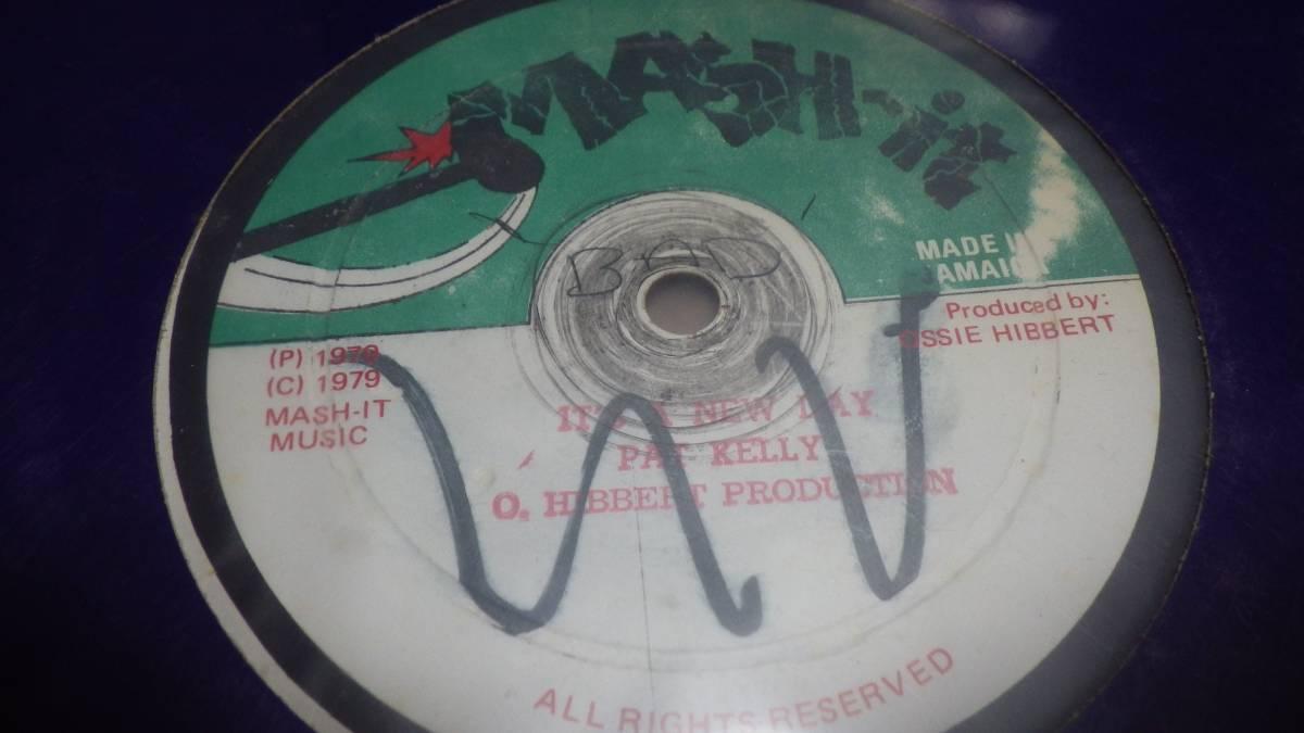 12inch org pat kelly It's a new day[ ] ex-~vg++ オリジナル reggae レゲエ roots ルーツ 1979年 vintage ビンテージ record レコード_画像1
