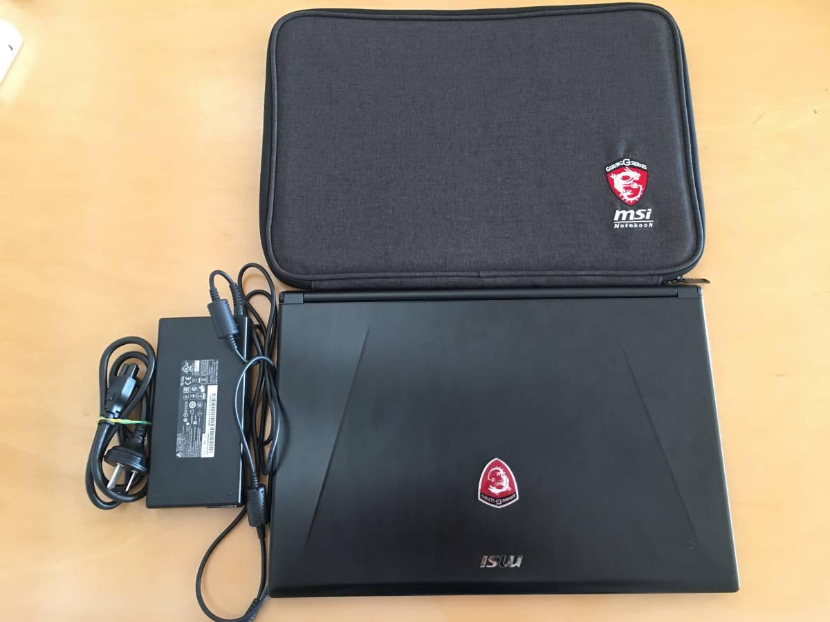 超薄超軽 最速モデル MSI GS60 2PC-279XCN Ghost Pro i7-4710HQ/512GB SSD(Raid 0)/2TB HDD/Geforce GTX860M/USキーボード 海外版