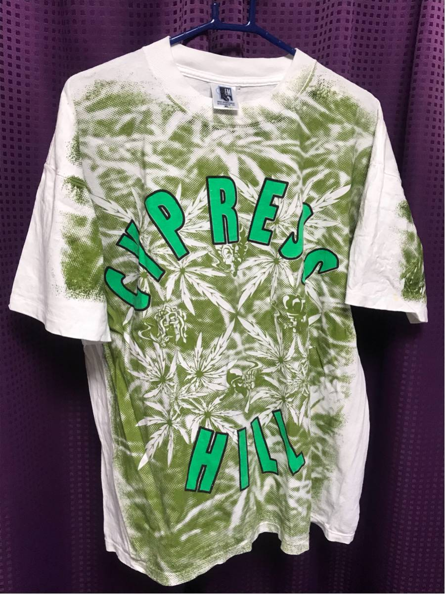 総柄!サイプレスヒル ビンテージ tシャツ@ Cypress Hill STUSSY Supreme rap tee snoop wu-tang N.W.A. ICE-CUBE NAS 2pac モスキート