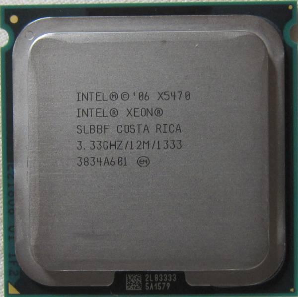 ■Intel,Xeon,X5470,3.33GHz,1333MHz,4コア,LGA771,送料無料■■