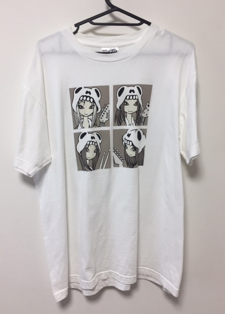 激レア SCANDAL スキャンダル YAH! YAH! YAH! HELLO SCANDAL インディーズ時代 初期 Tシャツ サイズL 白 状態良好