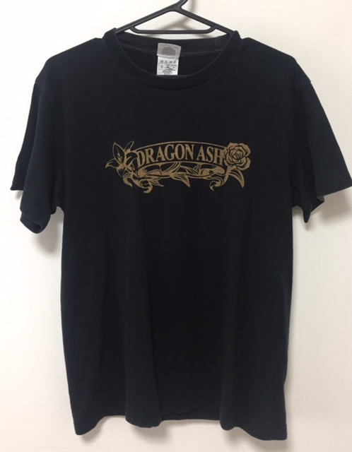 激レア Dragon Ash Tour 2007 DEVELOP THE MUSIC Tシャツ サイズS 黒