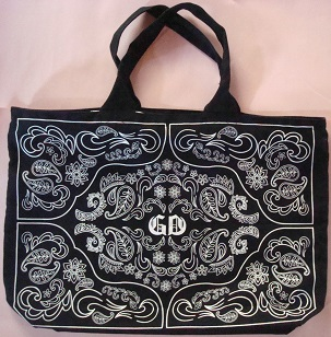 G-DRAGON from BIGBANG 2013 WORLD TOUR ONE OF A KIND JAPAN DOOM SPECIAL 公式グッズ バッグ BAG ジヨン ソロ ジヨコン コットンバッグ