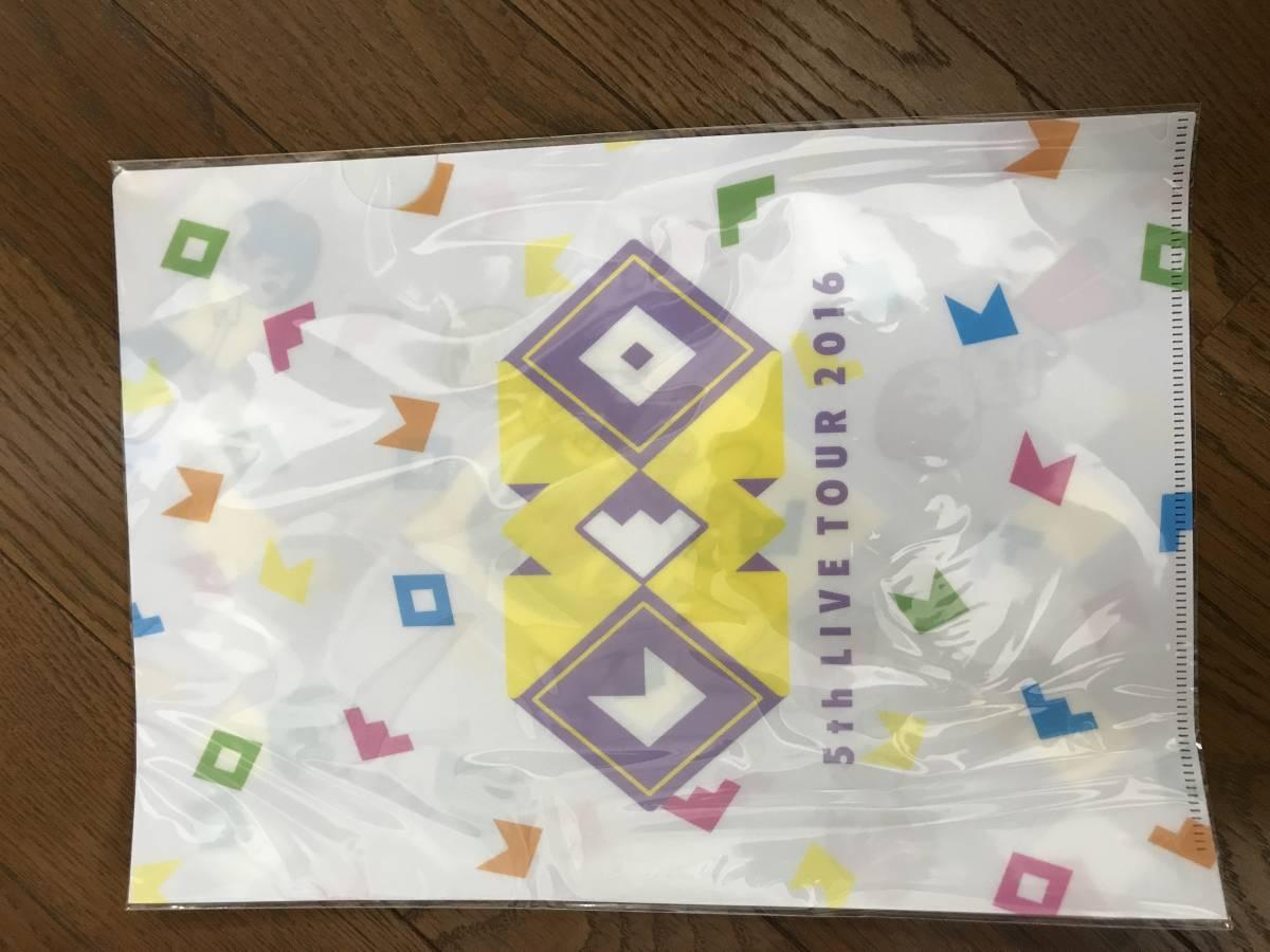 家入レオ 5th LIVEツアーグッズ クリアファイル