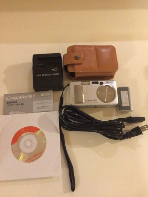 リコー Caplio R1 デジカメ 付属品 多数あり メモリーカード
