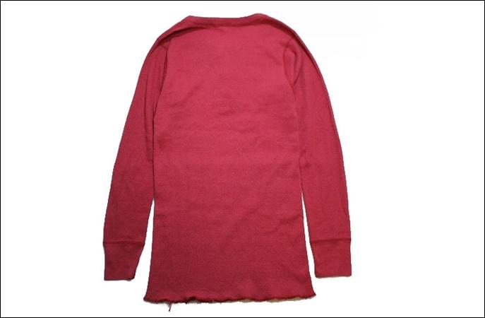 【L 42-44】 80's Sub-Zero サブゼロ サーマル Tシャツ USA製 ヘンリーネック 猫目ボタン ビンテージ ヴィンテージ 古着 オールド GE77_画像2