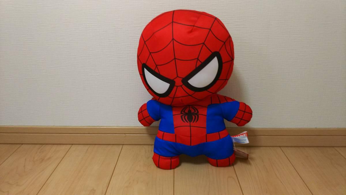 スパイダーマン ぬいぐるみ グッズの画像