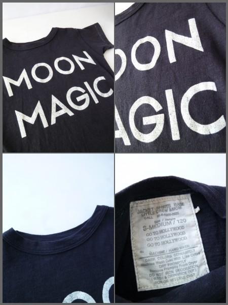 GO TO HOLLYWOOD ロゴ 三角模様 Tシャツ 120 ブラック 黒 デニム&ダンガリー_画像3