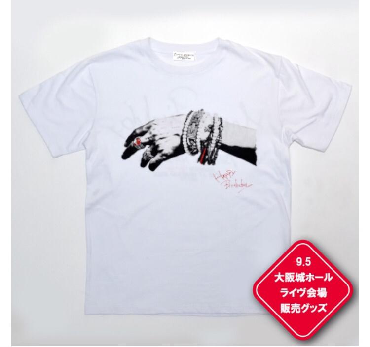 長渕剛 9/5 大阪城ホール バースデーライヴ 完売 ラインストーン Tシャツ 新品 M