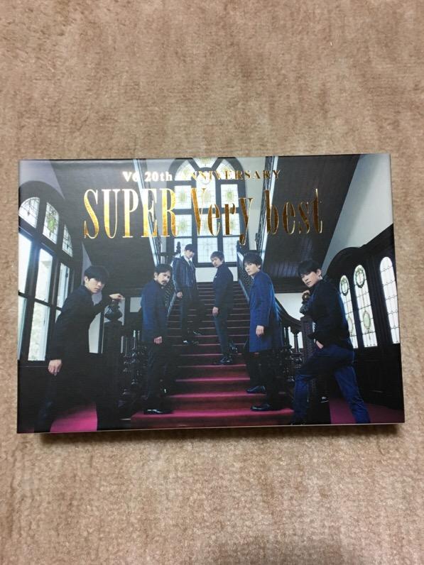 V6 SUPER Very best 初回生産限定B盤(3CD+DVD) コンサートグッズの画像