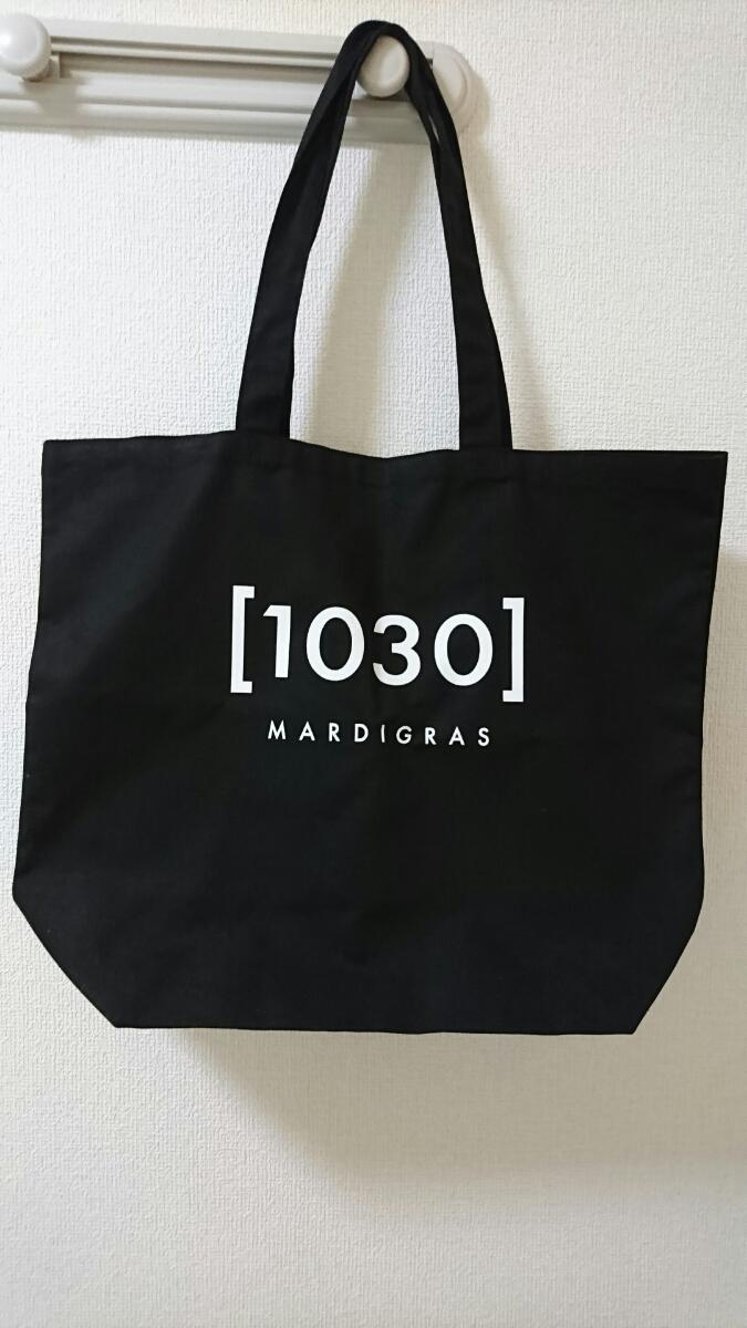 【新品未使用】清春 トートバッグ MARDI GRAS ライブグッズ ライブグッズの画像