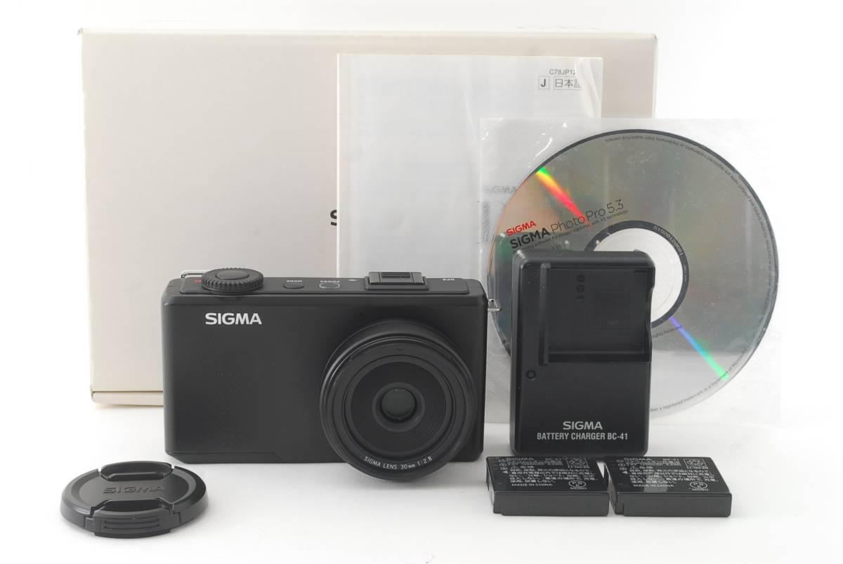 美品★シグマ Sigma DP2 Merrill 46.0MP Digital Camera #Ch816hh691