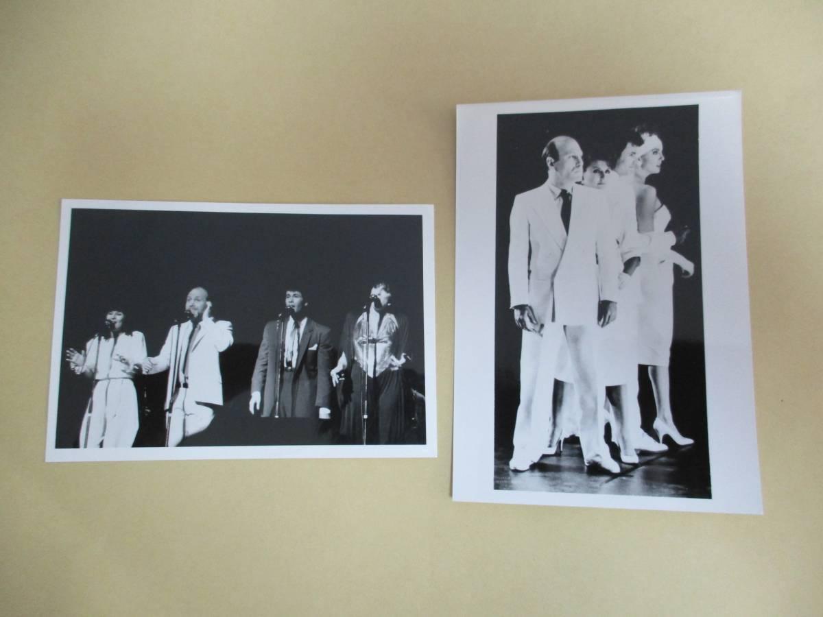 宣伝用写真 2枚 マンハッタン・トランスファー The Manhattan Transfer