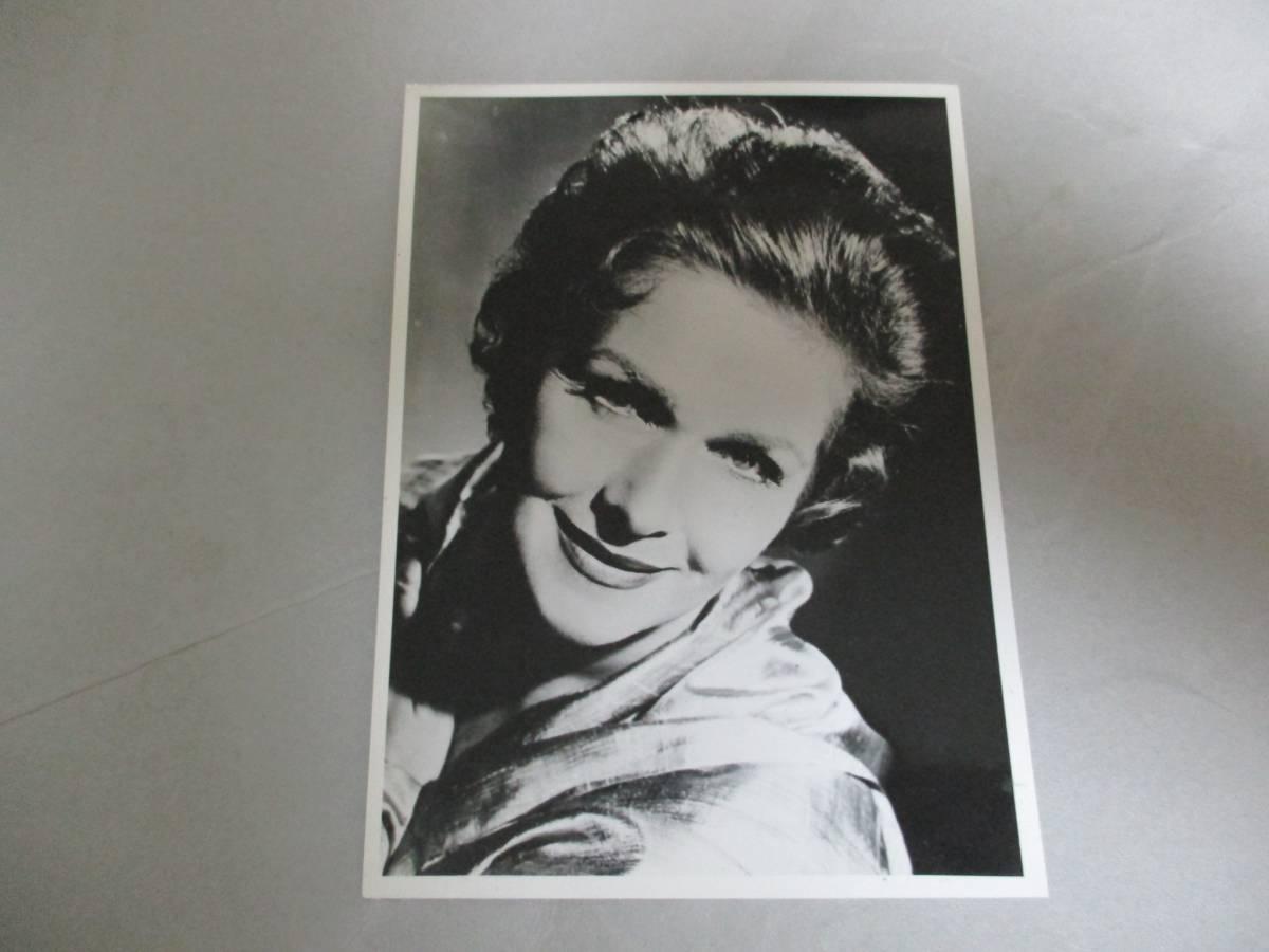 宣伝用写真 エリーザベト・シュヴァルツコップ Elisabeth Schwarzkopf