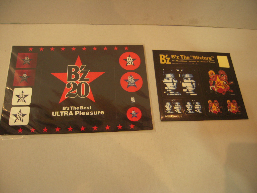 ステッカー: B'z「B'z The Best ULTRA Pleasure」