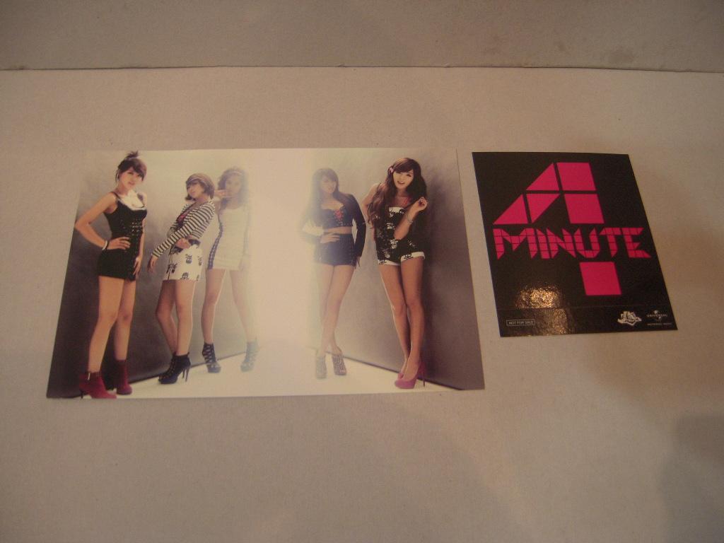 ポストカード: 4Minute フォーミニッツ「READY GO」
