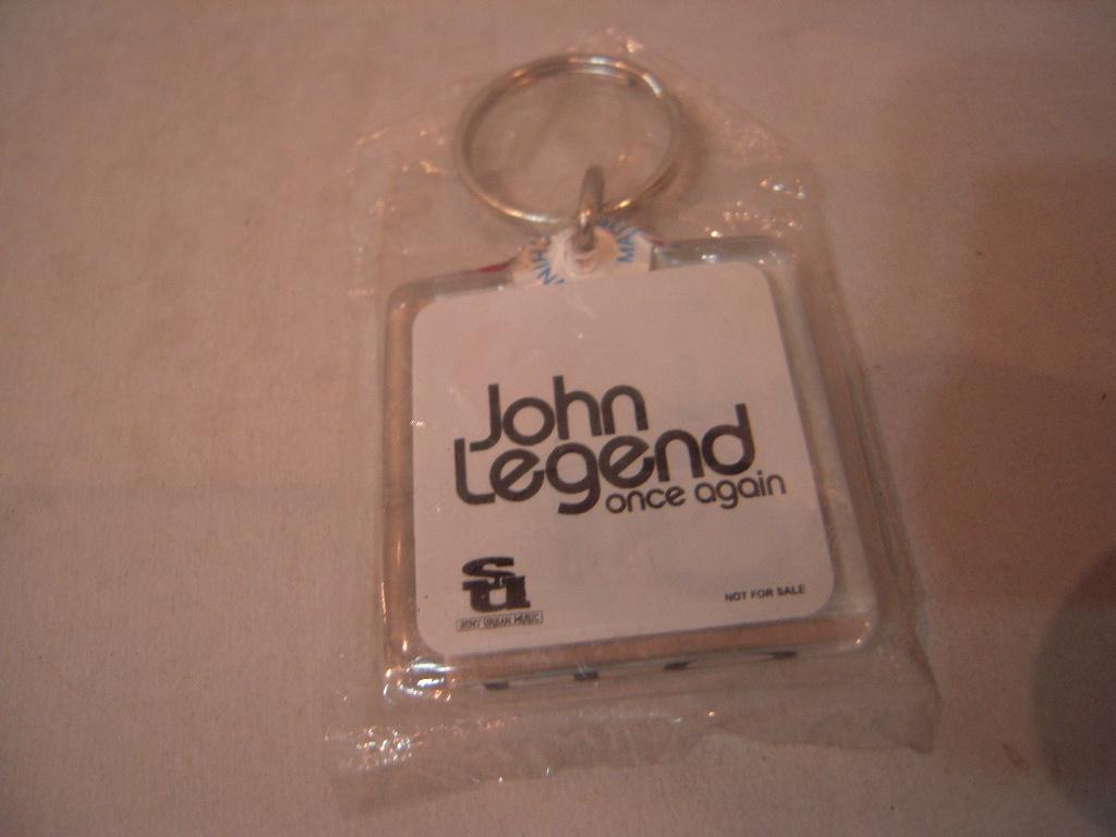 キーホルダー: ジョン・レジェンド John Leggend「Once Again」