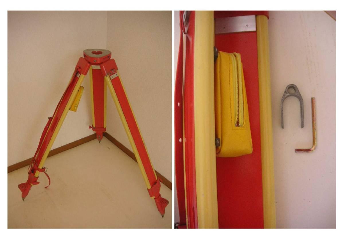 ★木脚(安定感◎ 7.1kg) 定芯桿欠品 測量用 三脚