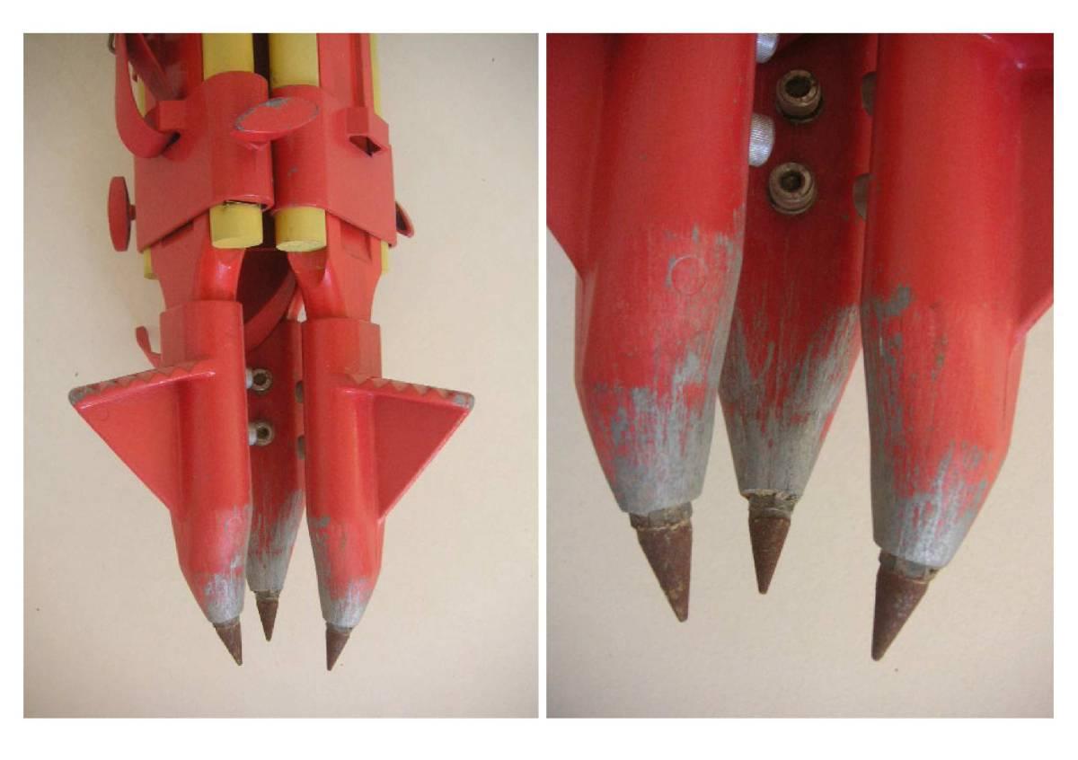 ★木脚(安定感◎ 7.1kg) 定芯桿欠品 測量用 三脚_画像3