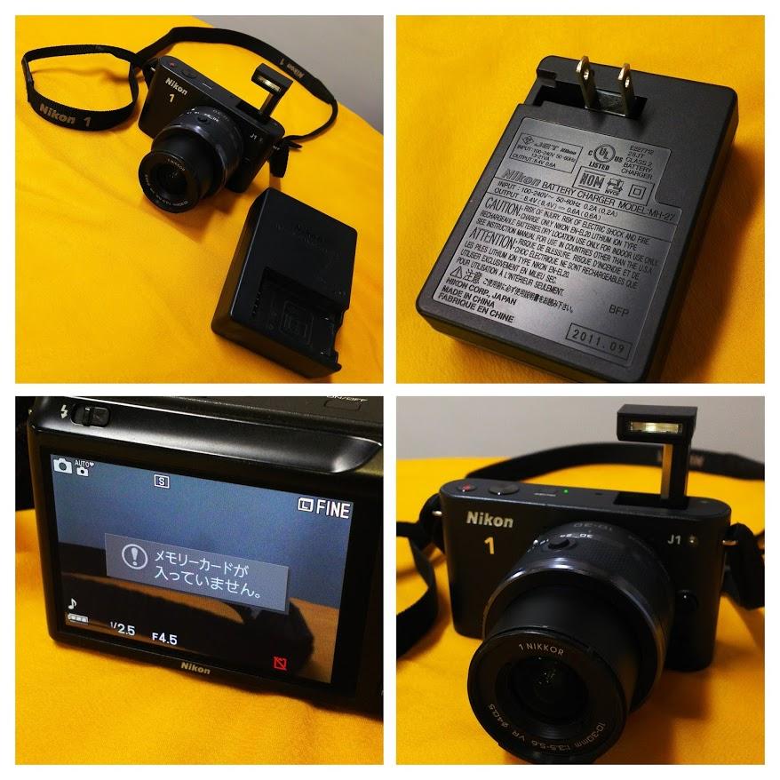◆ ニコン 中古 【Nikon 1 J1】 10-30mm レンズキット メモリーカード欠品 動作確認済み ジャンク扱い出品 一眼レフ カメラ ◆