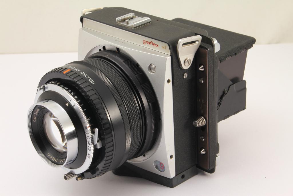 ★珍品★グラフレックス graflex XL S Carl Zeiss Planar 80mm F2.8 ペンタックス67用加工 67ホルダー付★