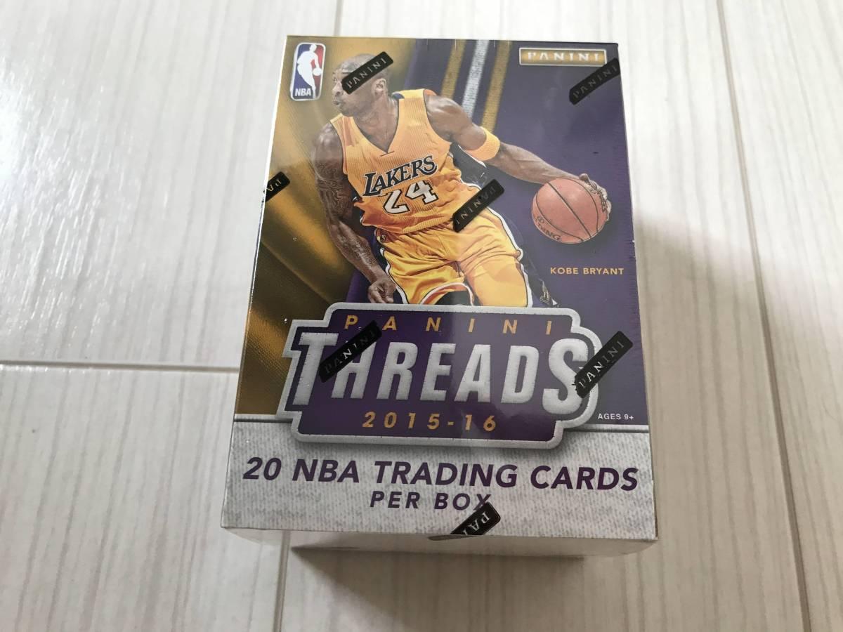 PANINI NBA 15-16 threads & 16-17 complete blaster box set グッズの画像