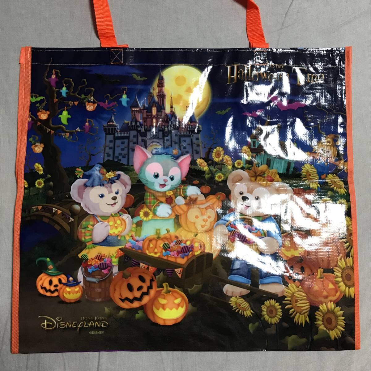 香港ディズニー ハロウィン ショッピングバッグ ショッパー_画像1