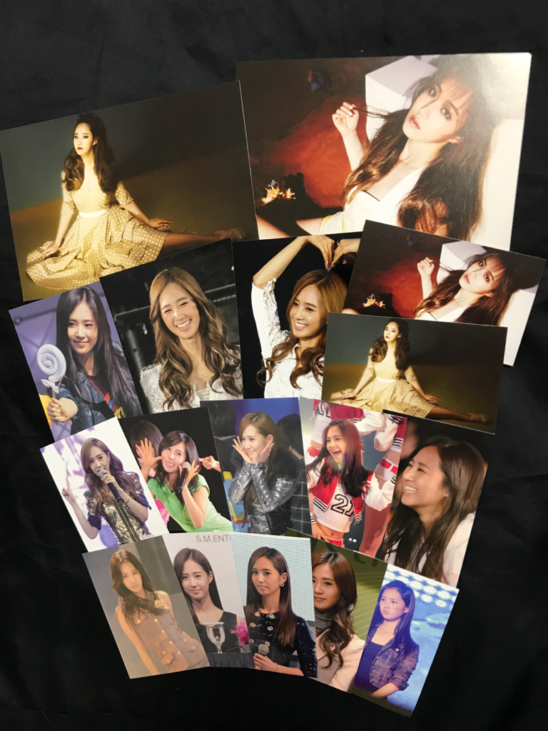◆ユリ◆生写真 FC作成トレカ ポストカード 18点セット 少女時代/CD トレカ LionHeart
