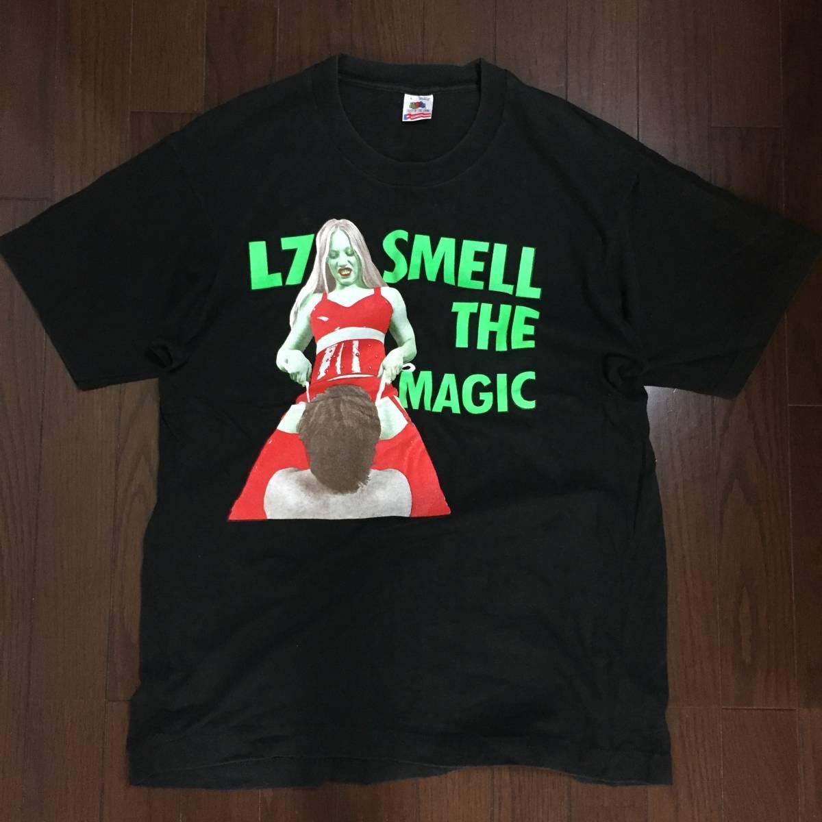 L7 smell the magic 古着Tシャツ(バンド グランジ オルタナ ヴィンテージ sub pop)