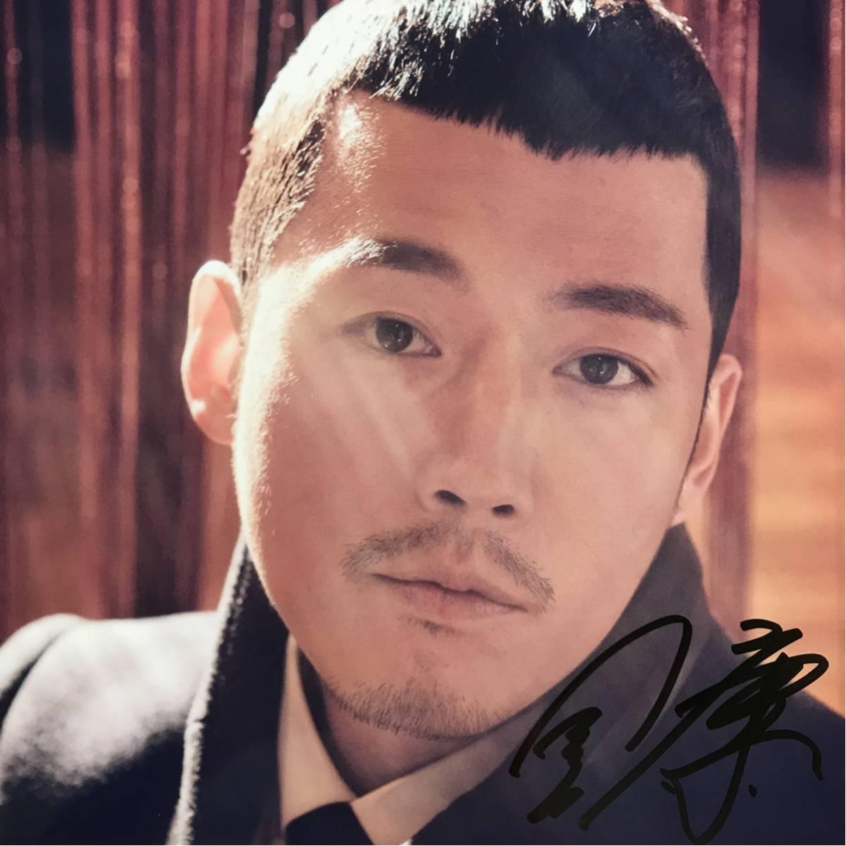 チャン・ヒョク直筆サイン入り写真☆☆