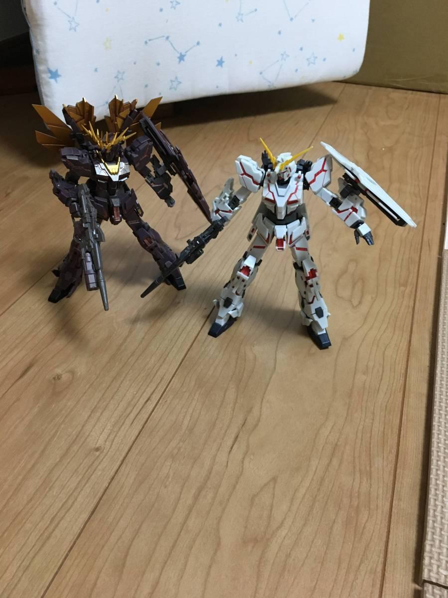 ROBOT魂 ユニコーンガンダム バンシィ ファイナルシューティングver ジャンクセット