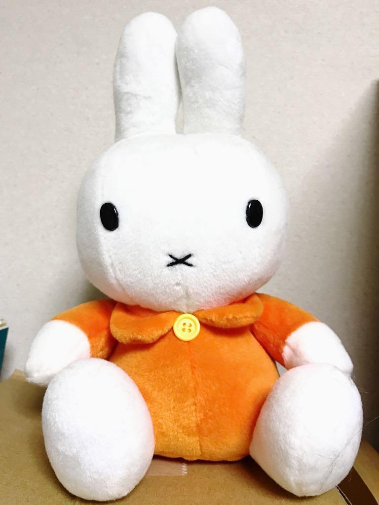 【ぬいぐるみ】ミッフィー (オレンジ、ブルー) グッズの画像