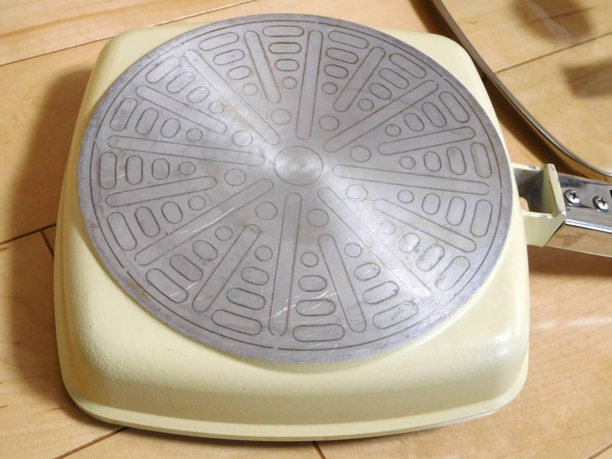 アサヒ軽金属◆ローストパン(S)クリーム おまけ可_画像3