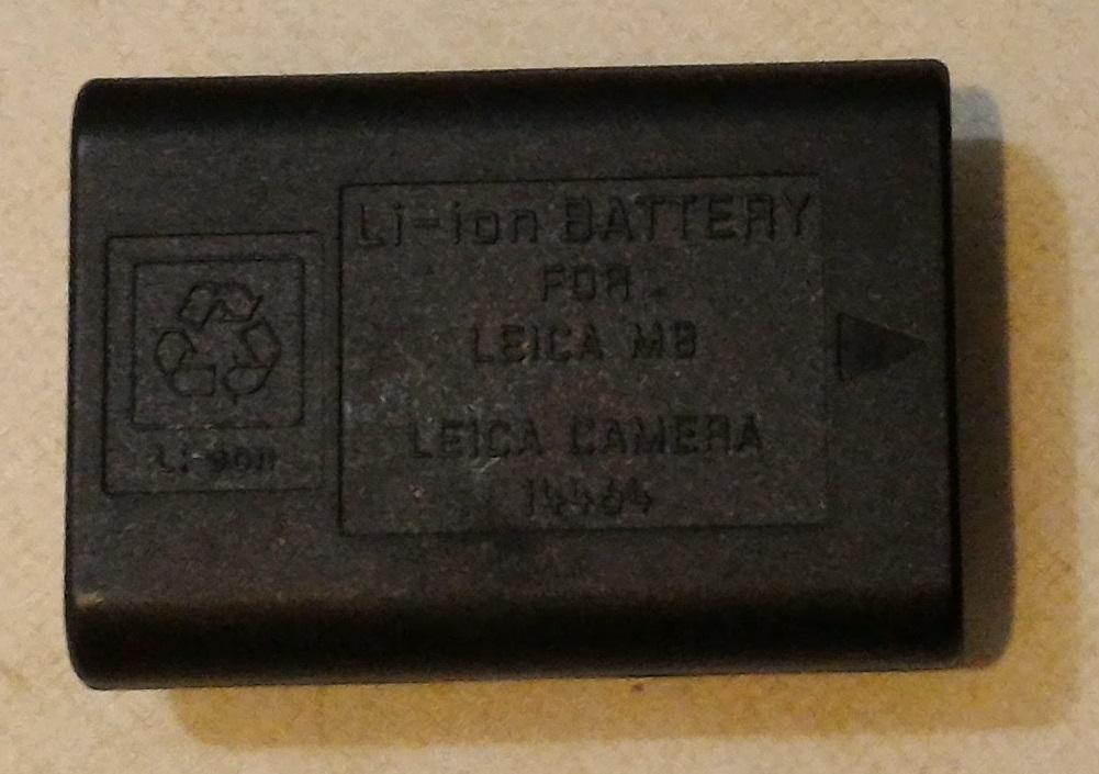 ライカ純正バッテリー14464(M8、M8.2、M9、M-E、初代モノクローム等に使えます。)